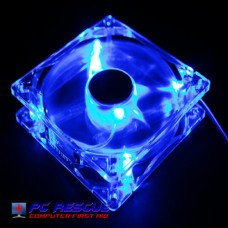 TrendTech 8cm Blue Lighted Case Fan