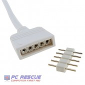 5 Pin RGBW Cable & Connector